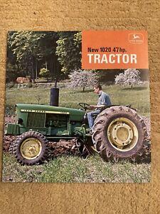 John Deere 1020 Tractor Brochure Leaflet