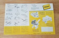 Vintage Mobo Toys 1950/1960 Original Catalogue with Prices