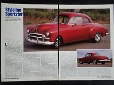 1949 Chevrolet Sport Coupe - 5 Page Article - Free Shipping