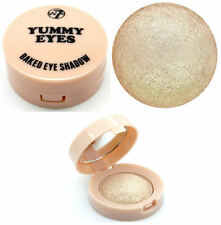 W7 Yummy Eyes Baked Eyeshadow - Cafe Latte - Shimmer Pearl Pale Highlighter