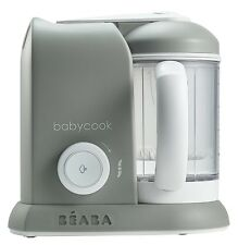 Beaba Babycook 4 In 1 Baby Food Maker Cloud Cook Steam Reheat Blend BPA Free NEW
