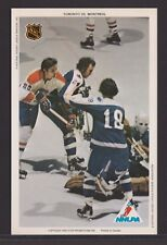 1971-72 NHLPA PRO STAR PROMOTIONS HOCKEY PHOTO P.MAHOVLICH-GLENNIE-McKENNY A3750