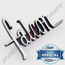 FALCON Glove Box Badge Set x4 NEW for XW XY Ford GS Glovebox Dash Console