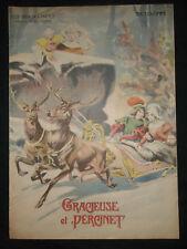 Gracieuse et Percinet - Contes français Madame d'Aulnoy - 1909 illustré Vaccari