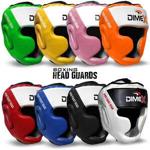 Boxing Head Guard Helmet MMA Martial Art Headgear Protector Kick Dimex NEW