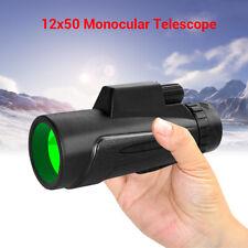 12x50 Wifi IR Infrared Night Vision Monocular for Hunting Hiking Night Watching