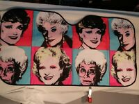 Golden Girls Andy Warhol Car Windshield Cover