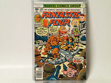 FANTASTIC FOUR #180 Marvel Comics 1977 VF Thundra, Tigra, Impossible MAn!  FL