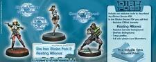 Infinity BNIB Dire Foes Mission Pack 2 Fleeting Alliance (Nomads VS ALEPH) 28003