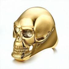 Biker Skull Ring Size 10