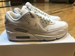 Nike By You ID Women's Air Max 90 White Grey CW6939 991 Size 6.5