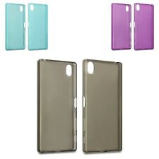 Silicone Slim TPU Gel Back Protector Case Cover For Sony Xperia Z5