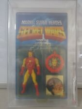 Vintage Mattel 1984 Secret Wars Iron Man AFA Graded 75 Y-EX+/NM C75 B80 F90