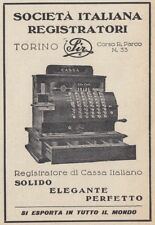 Z2588 SIR Registratore di Cassa Italiano - Pubblicità d'epoca - 1930 advertising