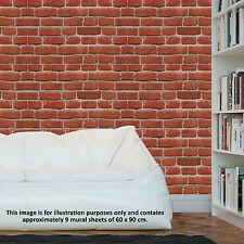 Vintage Brick Wall Self Adhesive Wallpaper Vinyl Decals