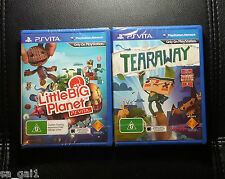 PS Vita Games Bundle - PSVITA *NEW / SEALED Little Big Planet & Tearaway