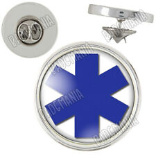Pin's 20mm Croix Vie Santé Ambulance Paramedic Caducée Ambulancier Pins Badge