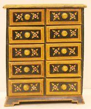 Decorative Vintage Collectible Hand Painted Wooden Handicraft Home Décor Art US7