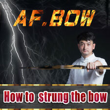 """Af Bow How to strung the bow """" No need to buy,Just watching �"""