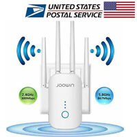1200 MBPS DUAL WiFi Range Extender Internet Booster Wireless Signal Repeater US