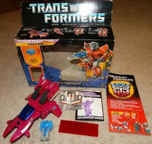 G1 HASBRO TRANSFORMERS TARGETMASTER MISFIRE w/ AIMLESS 100% COMPLETE in BOX