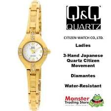 AUSSIE SELLER LADIES BRACELET WATCH CITIZEN MADE GOLD GL09-800 P$99.9 WARRANTY