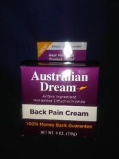 Australian Dream® Back Pain Cream 4oz. Expires 2020  Fast Shipping