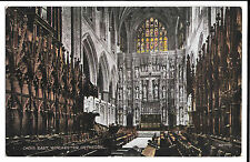 Choir East, Winchester Cathedral, PPC, Unposted by Valentines, Valesque Series