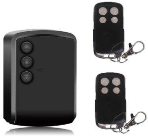 Centralina per serranda universale motore garage + ricevitore e 2 telecomandi