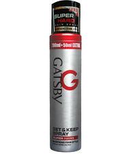Gatsby Set and Keep Hair Spray Super Hard Level-4, 250ml