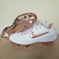 Nike Alpha Huarache Elite 2 Low Baseball Cleats Rose Gold Size 8 ( AJ6873-109 )