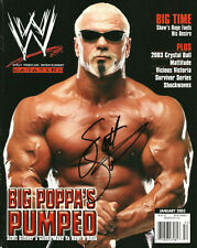 WWE SCOTT STEINER HAND SIGNED AUTOGRAPHED WRESTLING MAGAZINE WITH COA