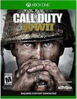 CALL OF DUTY WWII XBOX ONE NEW! WAR WARFARE COMBAT, BATTLE, CONFLICT BATTLEFIELD