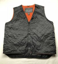 Greg Norman Fleece Lined Quilted Vest Mens XL