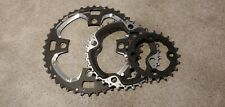 Shimano sg-x m9 mountain triple chainring set 44t-32t-22t, 104 BCD