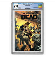 The Walking Dead Deluxe 1 Black Foil CGC 9.8 - Ltd 200 - RARE