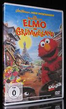 DVD DIE ABENTEUER VON ELMO IM GRUMMELLAND - SESAMSTRASSE - MUPPETS - JIM HENSON
