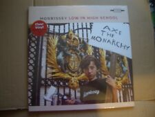 MORRISSEY - LOW IN HIGH SCHOOL - UK CLEAR VINYL LP - NEW / SEALED -  THE SMITHS