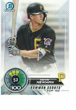 2018 Bowman Scouts' Top 100 5x7 /49 #52 Kevin Newman Pittsburgh Pirates