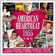 American Heartbeat 1955 - 50 Original Recordings 2CD NEW/SEALED