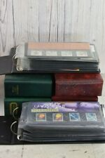 Job Lot First Edition British Post Office Stamps, 6 Albums, Over 100