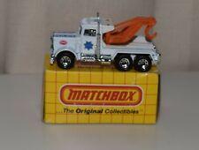 MATCHBOX SUPERFAST 1983 MB61  -PETERBILT POLICE WRECKER- *NOS*