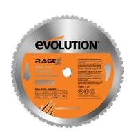 Tct Rage2 Replacement Blade, 14 In, 1 in Arbor, 1,400 Rpm, 36 Teeth