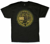 """VOLBEAT """"BEYOND HELL ABOVE HEAVEN"""" BLACK T-SHIRT NEW OFFICIAL ADULT ALBUM COVER"""