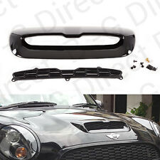 Mini Cooper S 2007-2013 Gloss Black Replacement Bonnet Vent Air Intake Scoop