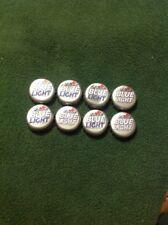 Labatt Blue Light Beer Bottle Caps - 8 - Arts Crafts Pins
