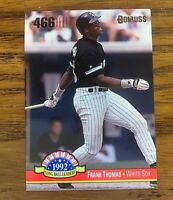 1993 Donruss Long Ball Leaders #LL10 Frank Thomas Insert - White Sox