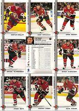 2000-01 BAP Be A Player Memorabilia Ottawa Senators Complete Team Set (17)
