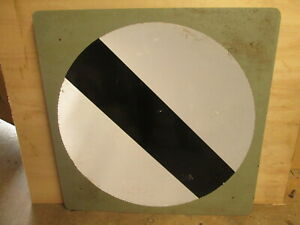 Maximum speed limit road sign 66 cm square road sign. traffic sign.