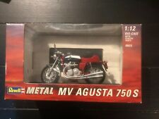 Revell Metal MV Agusta 750S Motorcycle, 1:12 Scale Die Cast, New In Box!
